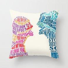 FIGHT Throw Pillow