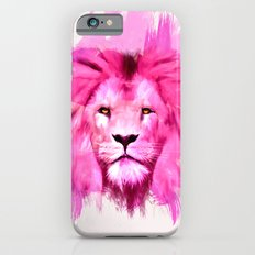 A Pink Lion Looked At Me iPhone 6 Slim Case