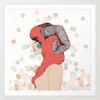 Aries 2.0 Art Print