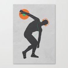 Vinylbolus Canvas Print
