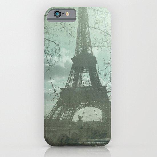 Monday in Paris iPhone & iPod Case