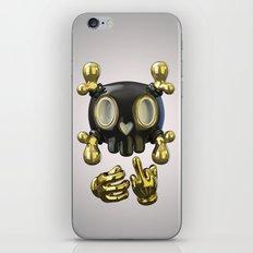 Crossbone SkullToon iPhone & iPod Skin
