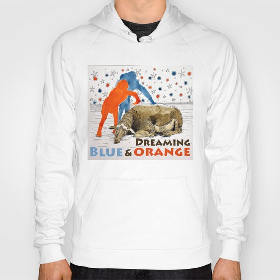 Blue & Orange Dream Hoody