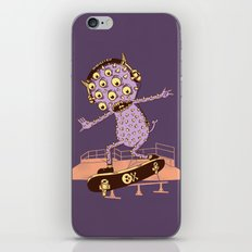 Hipster Monster iPhone & iPod Skin