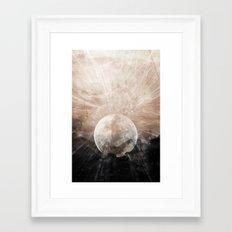 Planetary Soul Grace Framed Art Print