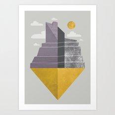 Grand Canyon slice Art Print