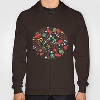 Cats And Flowers Hoody