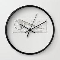 Etched print no. 1 Wall Clock