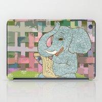 Elephant Reading iPad Case
