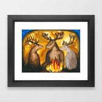 Gathering of Ancestors Framed Art Print