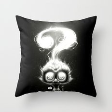 Question! Throw Pillow