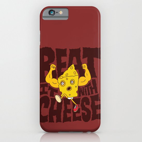 Beat it with Cheese iPhone & iPod Case