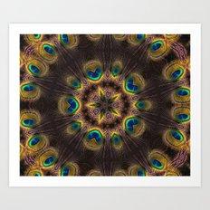 The Eye of the Peacock Art Print
