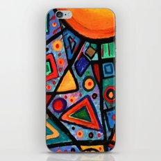 Abstract Sun iPhone & iPod Skin