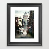 Galata Tower Framed Art Print