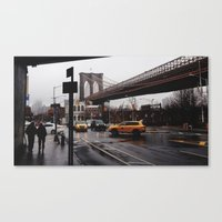 NY Bridges Series No.2 Canvas Print