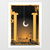 Great beauty by night Art Print