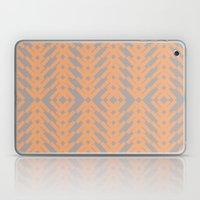 Peach and Gray Tribal Pattern Laptop & iPad Skin
