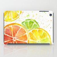 Fruit Watercolor iPad Case