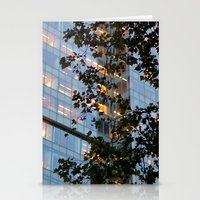 Urban Leaves Stationery Cards