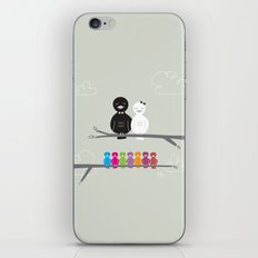 The Happy Family iPhone & iPod Skin