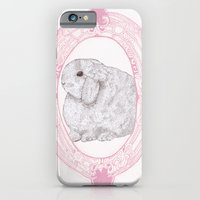 iPhone & iPod Case featuring Cameo Bunny by Rosepetaldeer