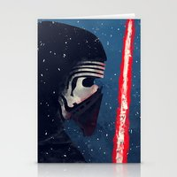 Kylo (Knight of Ren) Stationery Cards