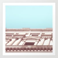 Melbourne City Architect… Art Print
