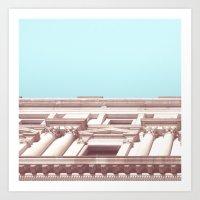 Melbourne City Architect… Art Print