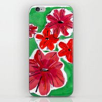 Petunias iPhone & iPod Skin