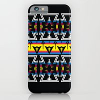 Large Native America inspired blanket print iPhone 6 Slim Case