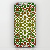 Red & Green iPhone & iPod Skin