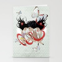 Doll Sunkissed Bipolar Love  Stationery Cards
