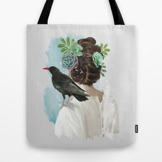 Girl&bird Tote Bag
