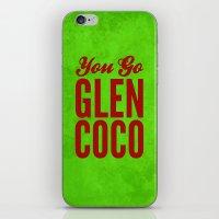 Glen Coco Xmas iPhone & iPod Skin