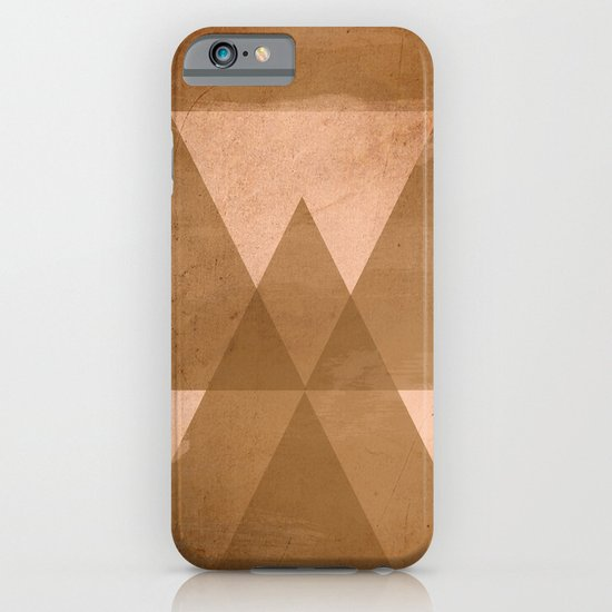 Distressed Triangles iPhone & iPod Case