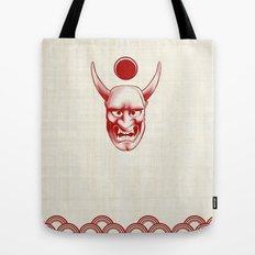Oni over the sea Tote Bag