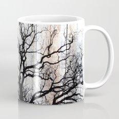 Tree Silhouette on Wood Mug