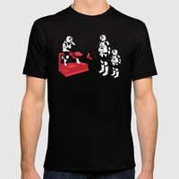 Biker Scout Wannabe Mens Fitted Tee Black SMALL