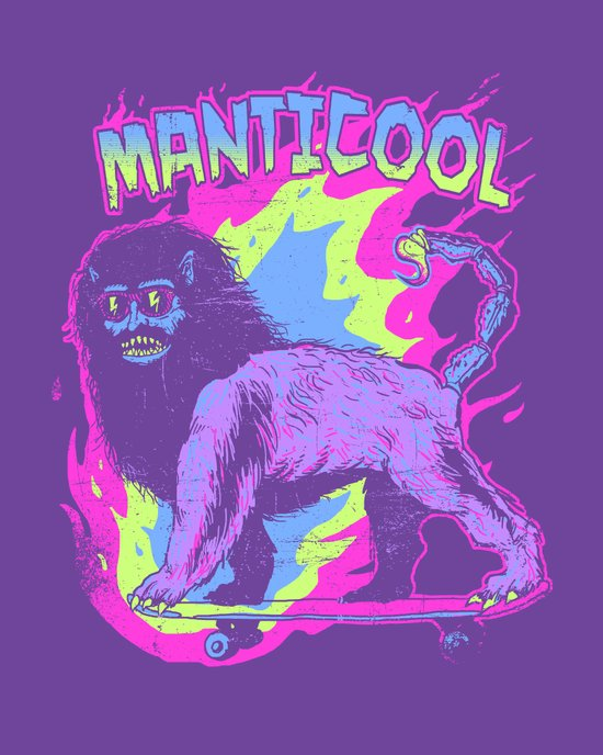 Manticool Art Print