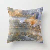 onix mineral Throw Pillow