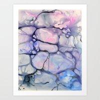 Violaceae Art Print