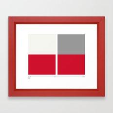 Home&Away Red Sox Framed Art Print