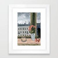 Rose Bouquet Framed Art Print
