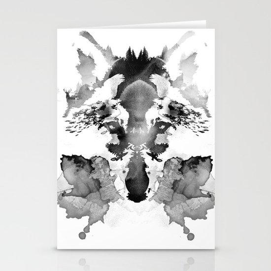 Rorschach Stationery Card