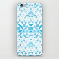 Geomtric Pastel Wave iPhone & iPod Skin