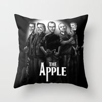 The Apple Band Throw Pillow
