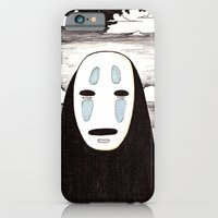 iPhone & iPod Case featuring No Face by Rock On Robot