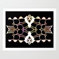 Sea Shell Creature Colle… Art Print