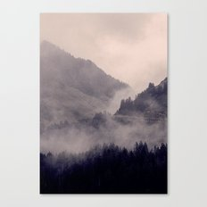 HIDDEN HILLS Canvas Print